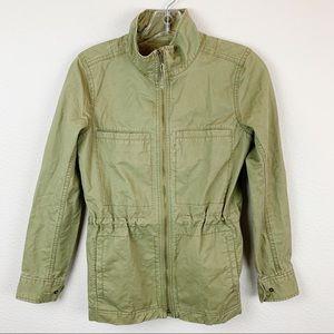 J. Crew Green Utility Field Jacket